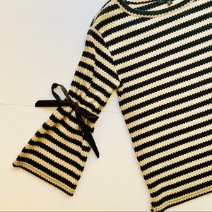 Sanctuary striped pullover sweater Sz M